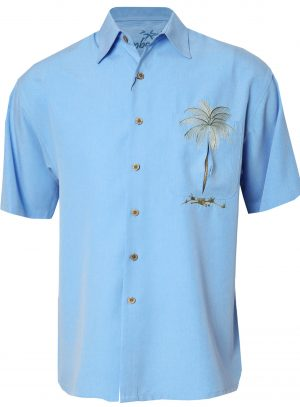 Bamboo Cay Short Sleeve Button Down Shirt